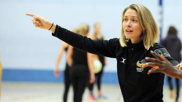 dfa043bc091d Netball Superleague: How Wasps and Severn Stars came into existence - BBC  Sport