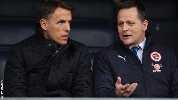 Russ Fraser and Phil Neville
