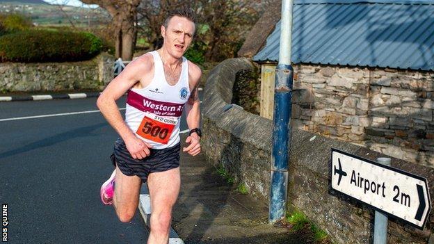 Orran Smith running