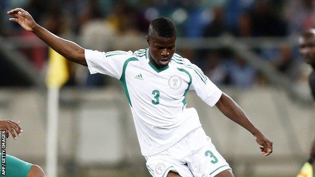 Nigeria's Elderson Echiejile