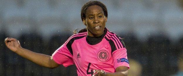 Scotland defender Ifeoma Dieke