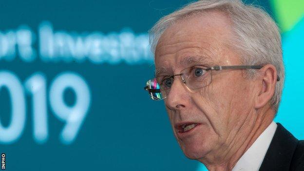 John Treacy is the chief executive of Sport Ireland