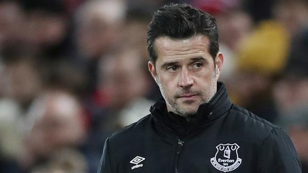 Everton's Marco Silva: I don't know the future, says under-pressure management