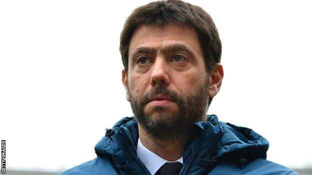 Juventus chairman Andrea Agnelli wants changes to the format of European competitions