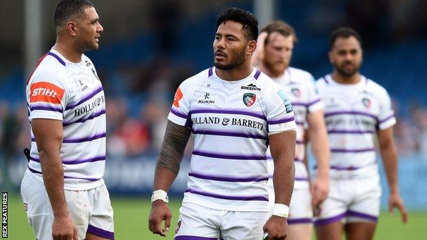 Leicester Tigers after Exeter loss
