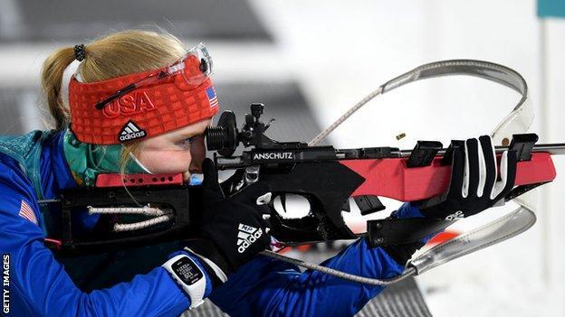 US biathlete Maddie Phaneuf