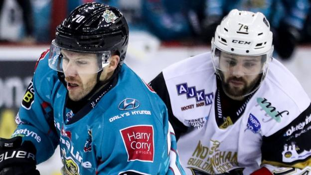 Elite League: Belfast Giants bounce back from cup defeat to beat Nottingham Panthers