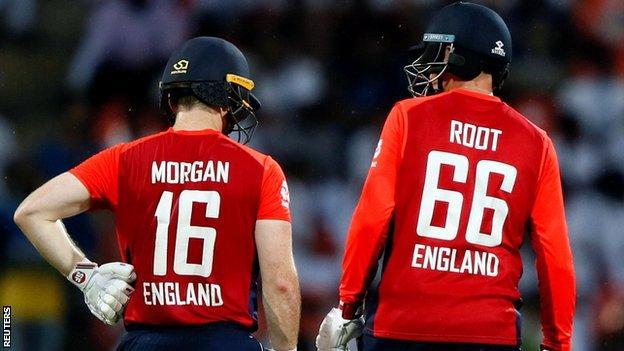 Joe Root and Eoin Morgan