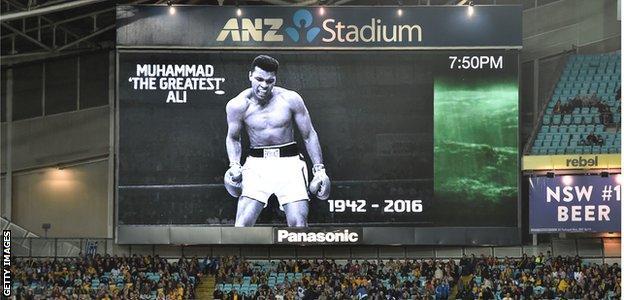 ANZ Stadium Australia and Greece