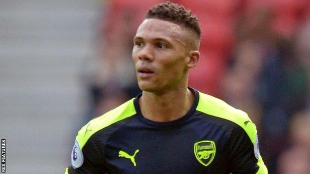 Arsenal left-back Kieran Gibbs