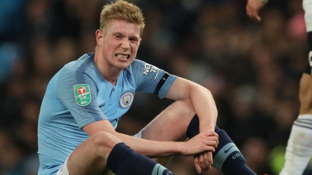 Kevin de Bruyne: Pep Guardiola says Man City midfielder finished last season 'exhausted' thumbnail