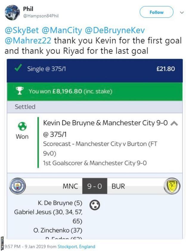 Fan's bet