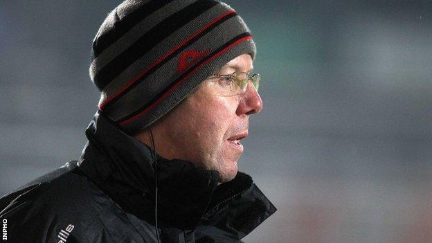 Eamon Burns has managed club sides Ballymartin, Darragh Cross and Bryansford