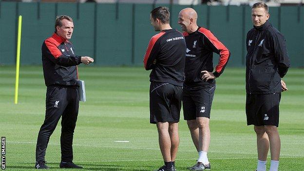 Brendan Rodgers, Chris Davies