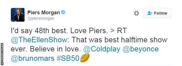 Piers Morgan tweet snip