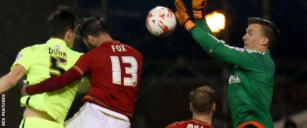 Lewis Dunk goal for Brighton