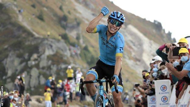 Tour de France Stage 17: Miguel Angel Lopez Wins, Primoz Roglic Stretches Lead