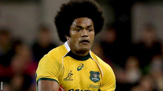 Henry Speight has played over 100 Super Rugby games for the Brumbies