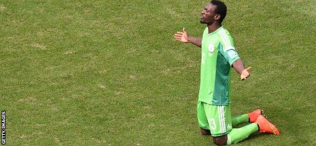 Nigerian international defender Juwon Oshaniwa