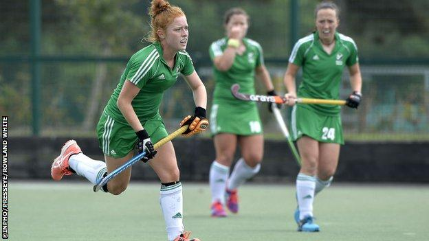 Ireland's Zoe Wilson, who plays for German club Harvestehuder, has been included.