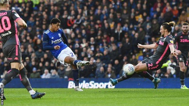 Birmingham City teenager Jude Bellingham's goal was his first in over three months since scoring in successive games in early season