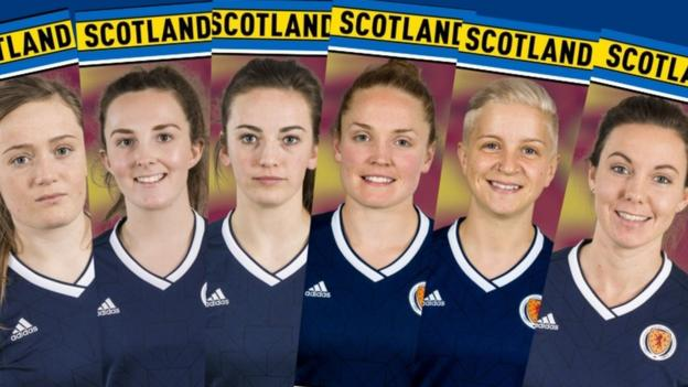 Women's World Cup: meet the personalities in the Scotland squad