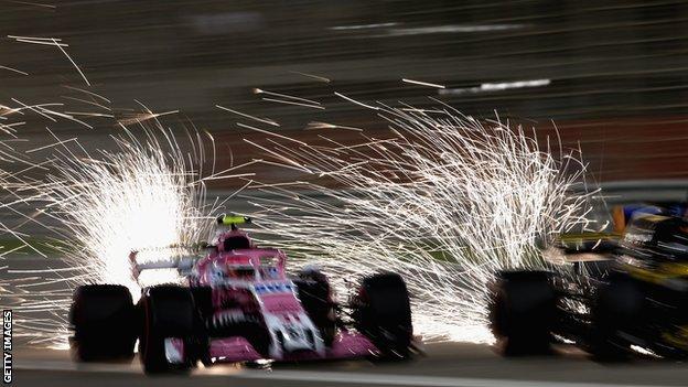 Sparks, Ocon