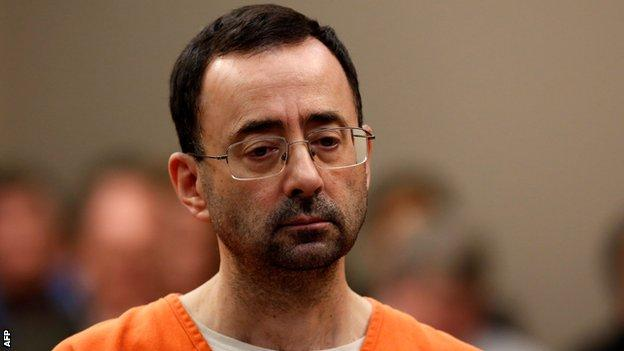 Nassar worked for USA Gymnastics and Michigan State University