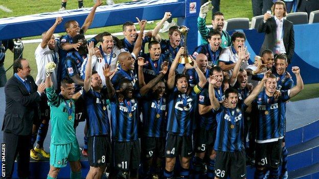 Rafa Benitez at Inter Milan