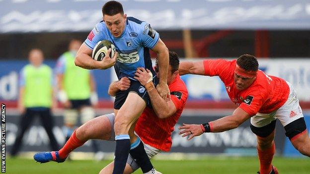 Wing Josh Adams is the only Cardiff Blues player selected for the 2021 British and Irish Lions tour