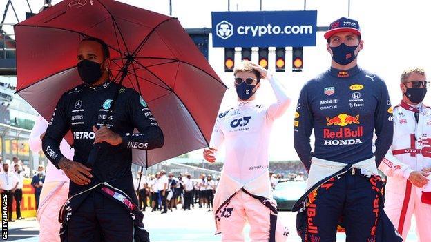 Max Verstappen said Lewis Hamilton