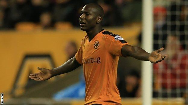 Wolves striker Benik Afobe has netted eight times in all competitions this season