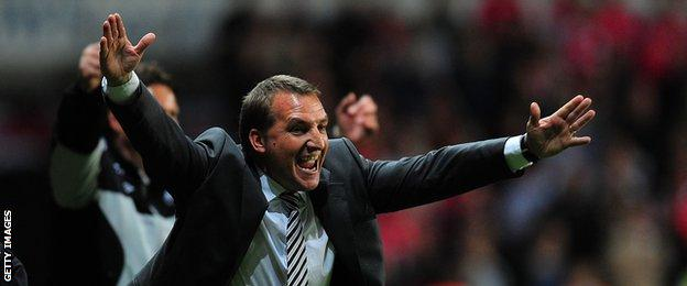 Brendan Rodgers took Swansea into the Premier League