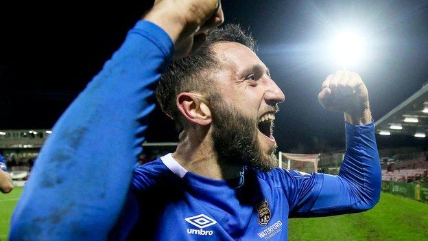 Shane Duggan made it 1-1 with a Waterford penalty in Monday night's game