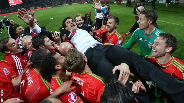 Wales qualify for Euro 2016