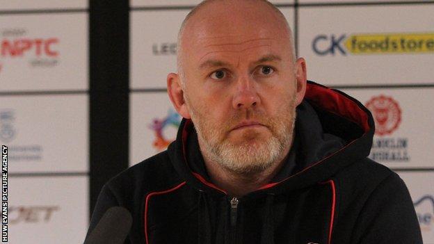 Ospreys coach Steve Tandy