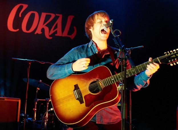 The Coral frontman James Skelly