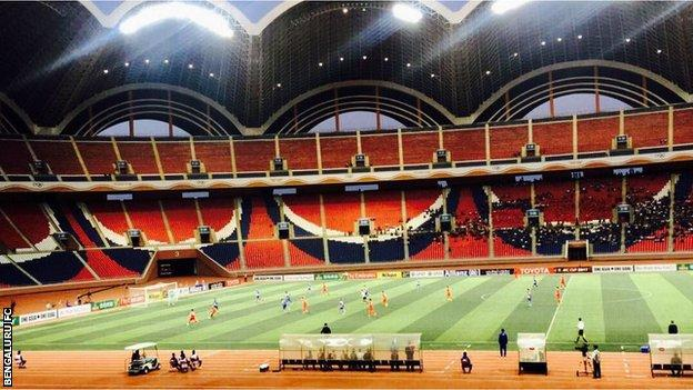 May Day Stadium in Pyongyang