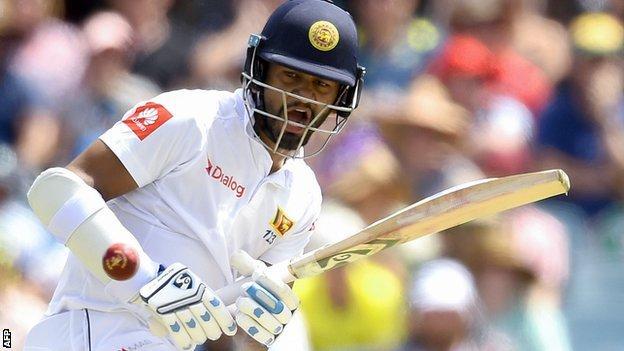 Sri Lanka opening batsman Dimuth Karunaratne