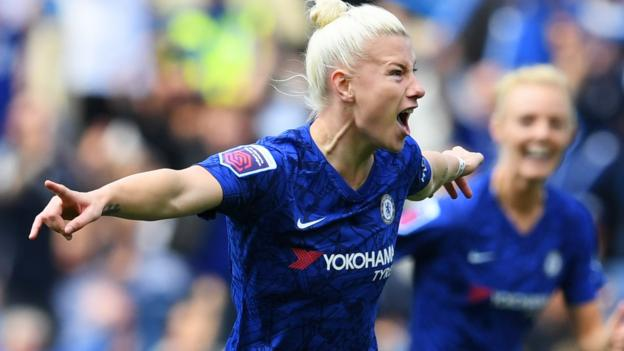 Chelsea Women 1-0 Tottenham Hotspur Women: Beth England's early goal gives Blues derby win
