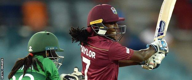 West Indies captain Stafanie Taylor hits out
