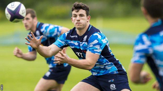 Matt Scott returns to Scotland training