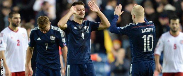 Scotland visit Georgia next month