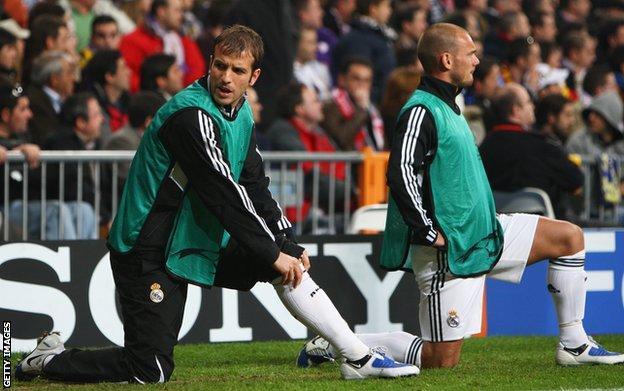Rafael van der Vaart and Wesley Sneijder