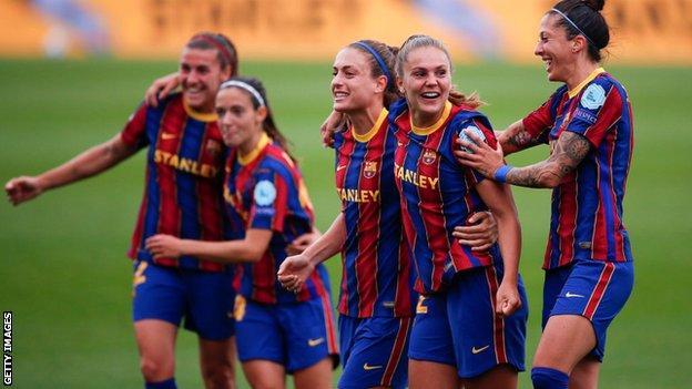 Women's Champions League: Barcelona beat PSG to reach final thumbnail
