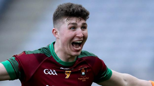 It was a goal by Tiarnan Kelly which swung the decider in favour of St Ronan's College