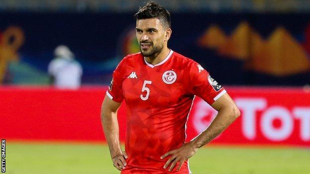 Tunisia international Oussama Haddadi