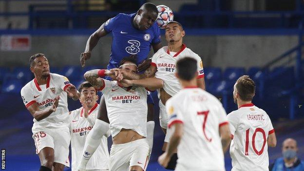 Mendy 'shows quality' as Chelsea frustrated in home draw with Sevilla thumbnail