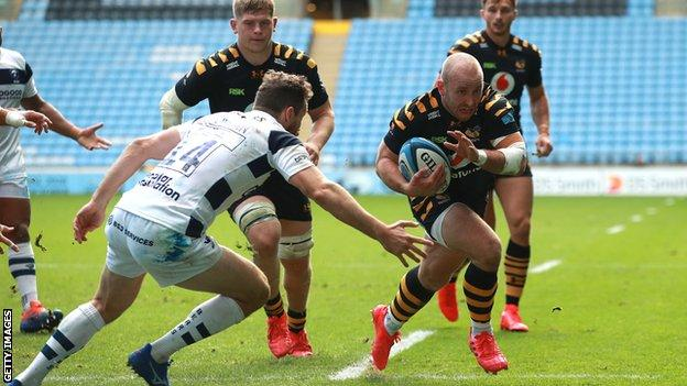 Dan Robson scores for Wasps