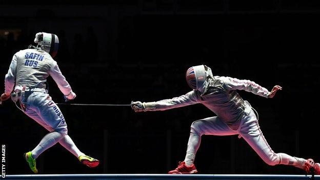 Richard Kruse (right) in action in the Rio Olympics bronze-medal match